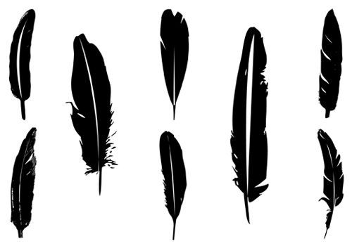 Simple feather clipart 1 » Clipart Portal.