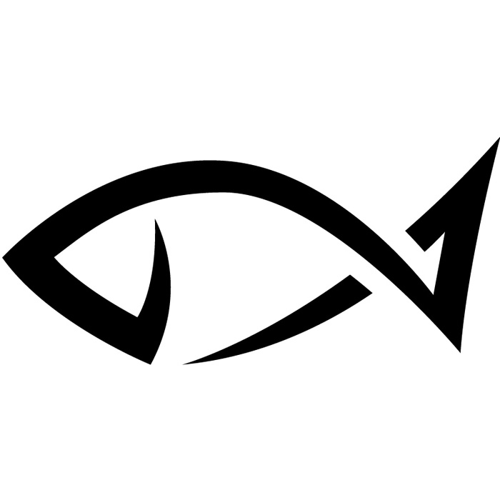 Simple Fish Clipart.