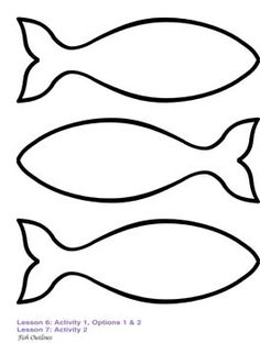 Simple Fish Outline.
