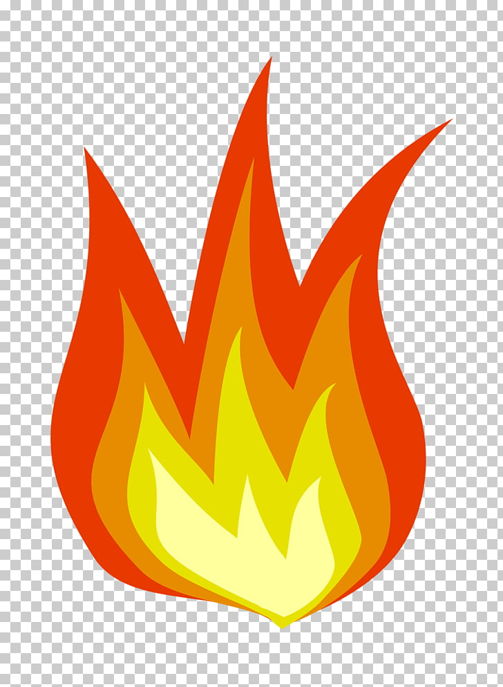 Simple Flame, fire art PNG clipart.