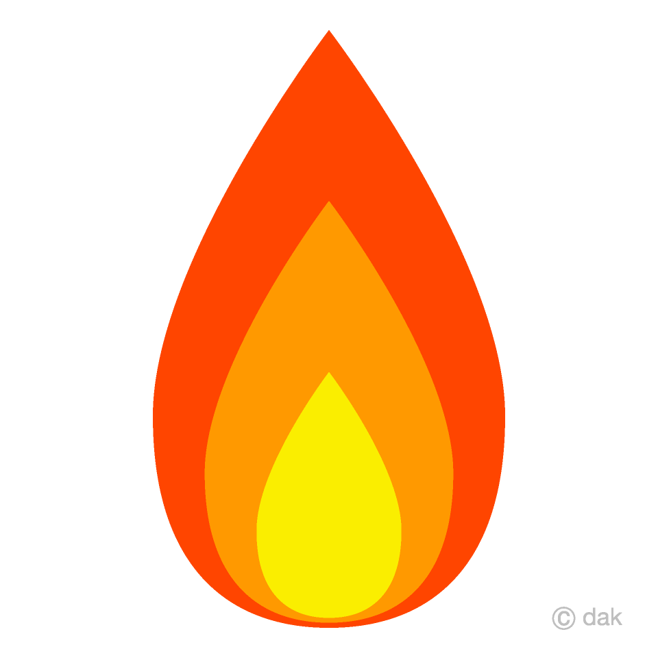 Free Simple Fire Clipart Image|Illustoon.