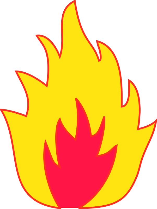 Flame Fire Combustion Clip art.