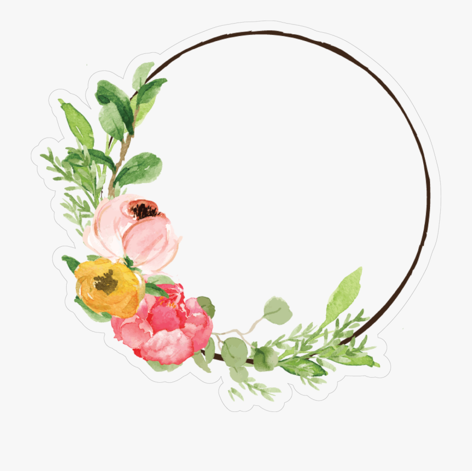 Simple Wreath Print & Cut File.