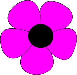 Simple Flower Clip Art at Clker.com.