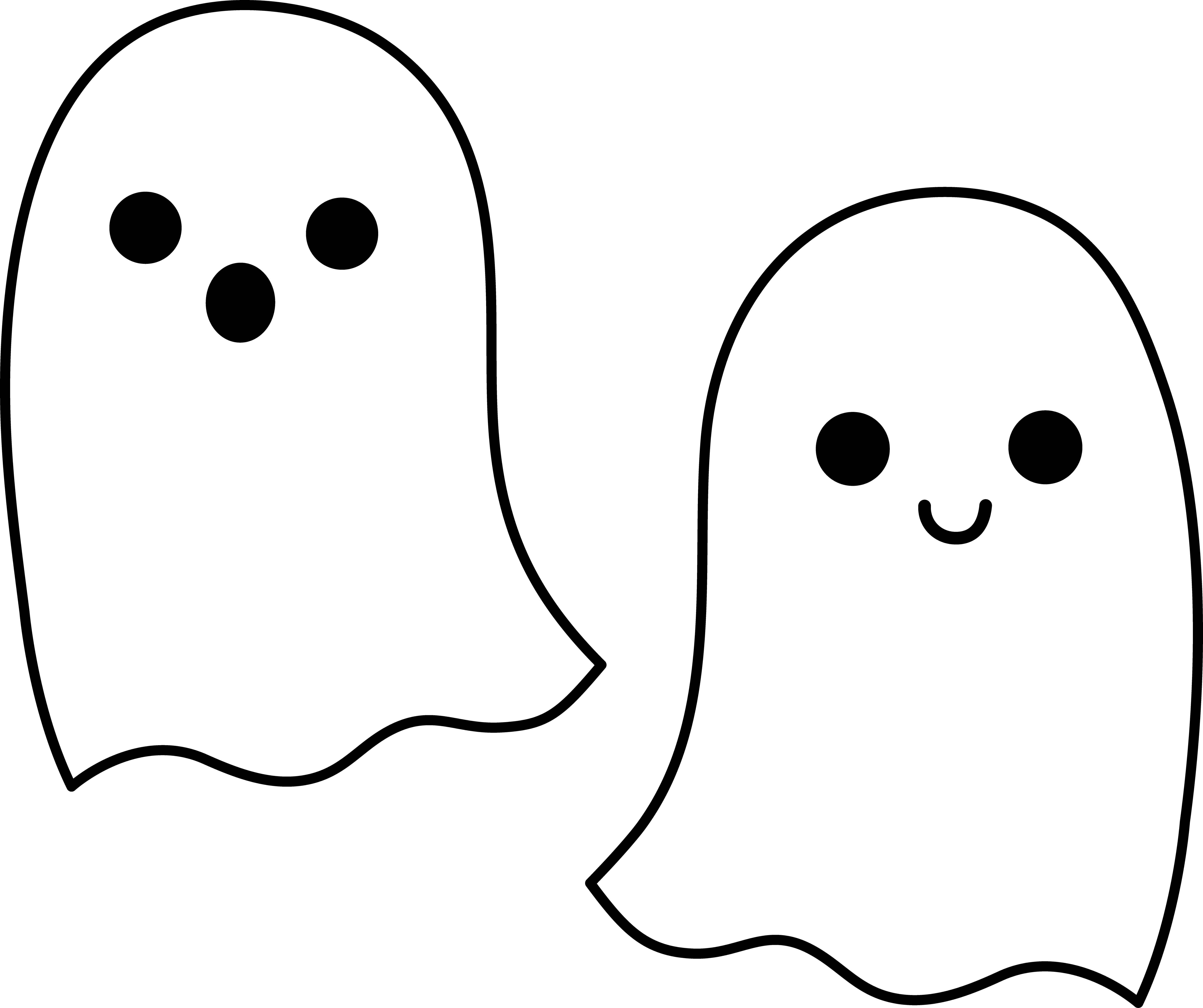Halloween Clipart Ghost.