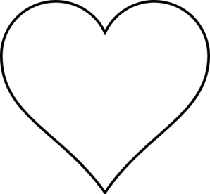 Simple Heart Clip Art at Clker.com.