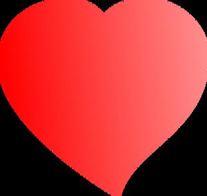 7904 simple heart shape clip art.