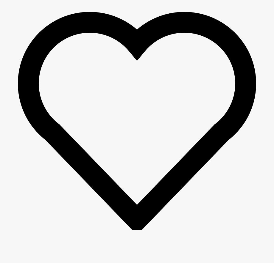 Simple Heart Clipart.