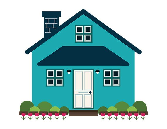 Simple house clipart » Clipart Station.