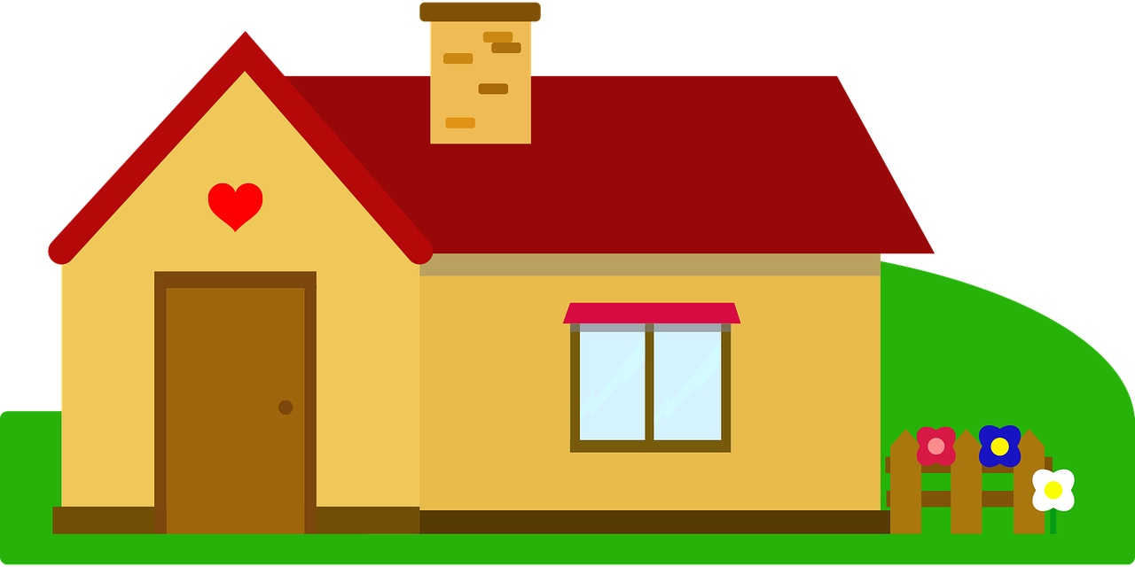 Simple house clipart clip art library.