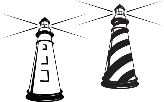 Lighthouse Drawing Simple.