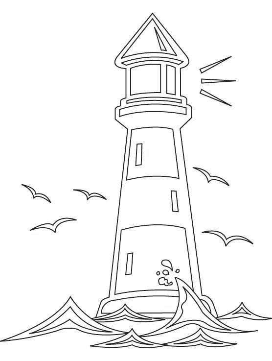 Image result for lighthouse drawing simple.