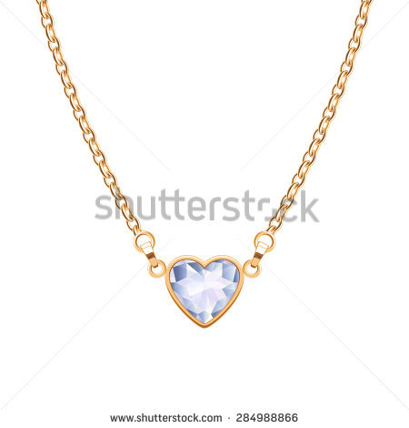 Necklace Chain Stock Images, Royalty.