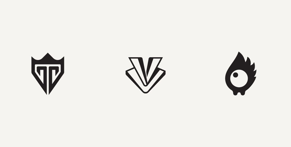 Intricate but Simple Logo Designs by Anton.