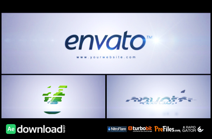 SIMPLE LOGO REVEAL (VIDEOHIVE).