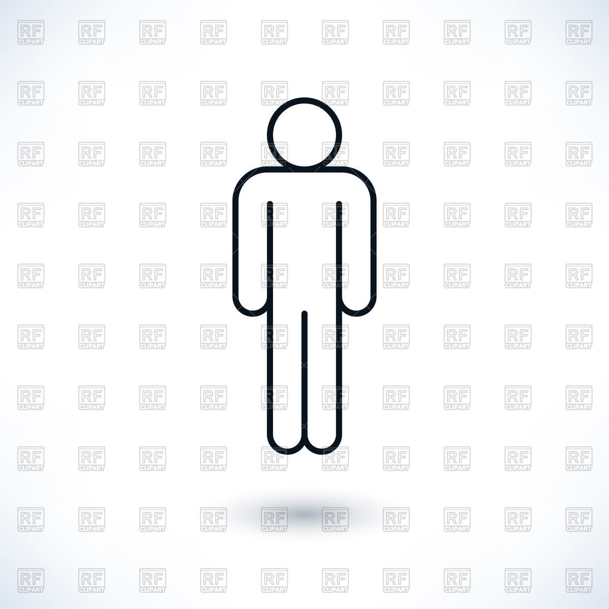 Simple man clipart 3 » Clipart Portal.