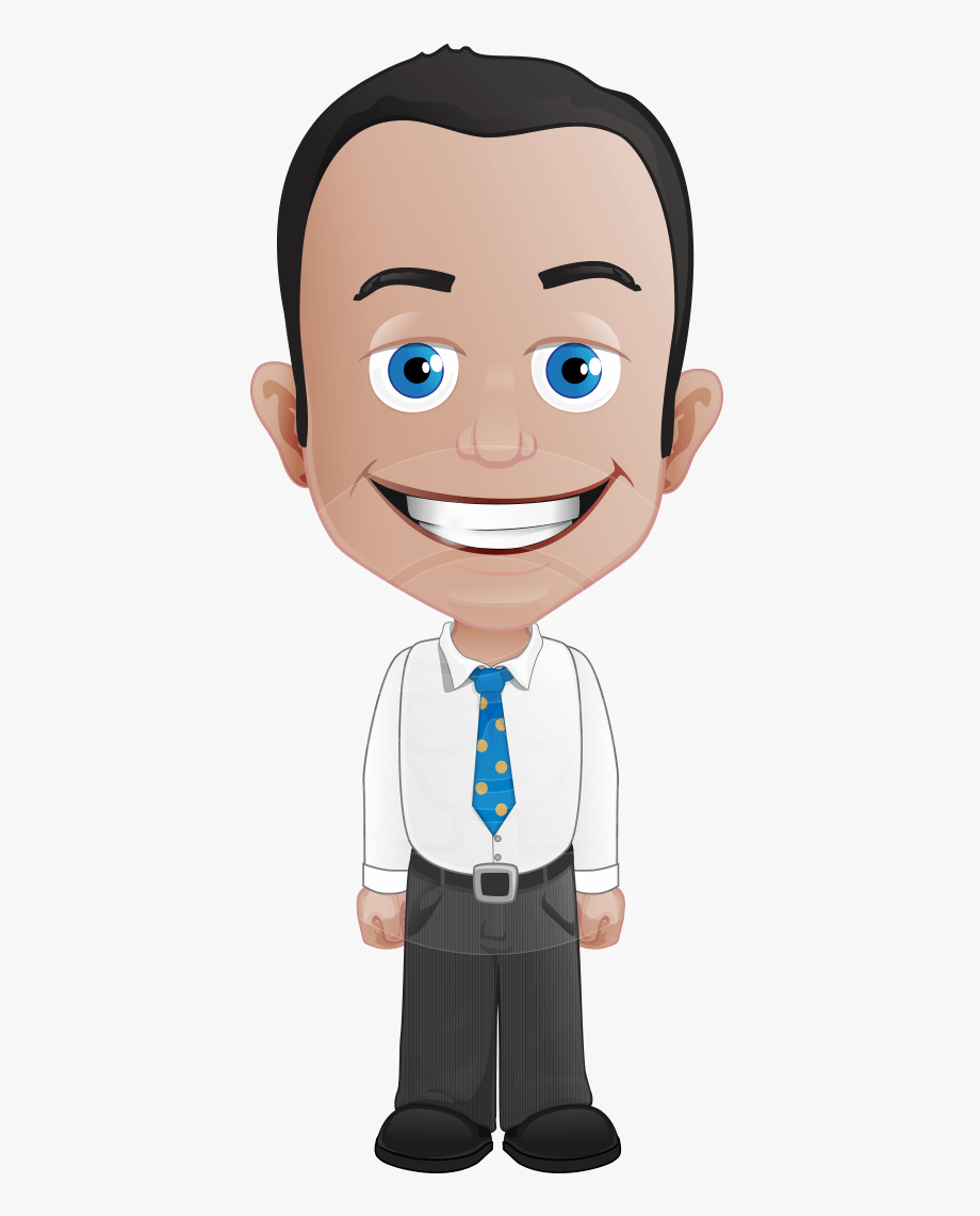 Businessman Clipart Male Character.