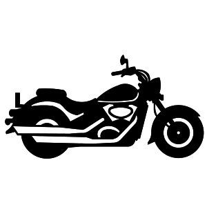 Motorcycle black and white motorcycle clipart black and.