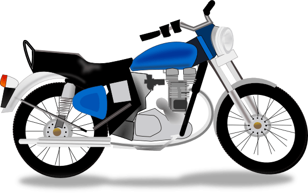 Simple motorcycle clipart 1 » Clipart Portal.