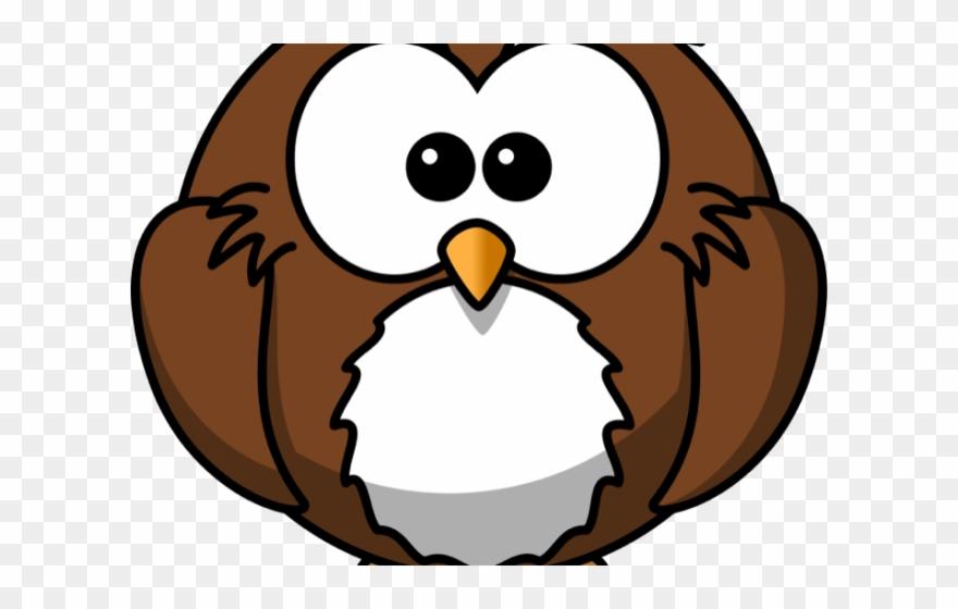 Snowy Owl Clipart Simple.