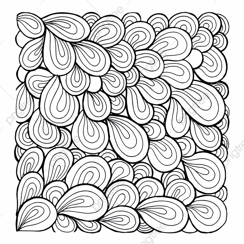 Shells Simple Black And White Patterns Backgrounds, Black.