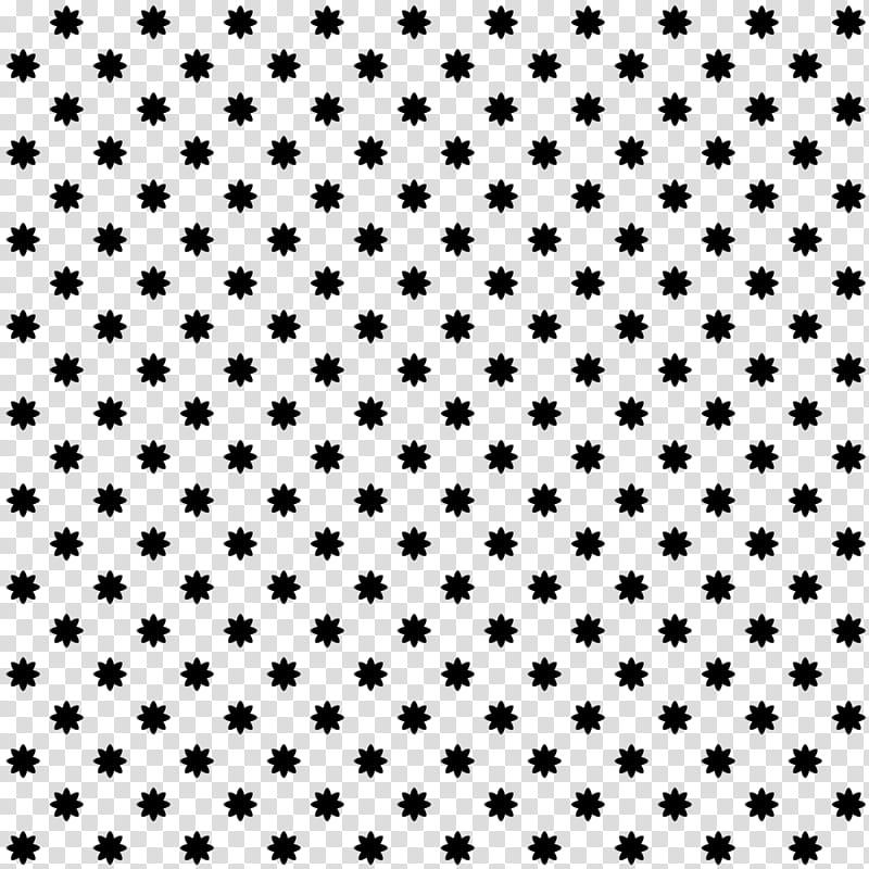 FREE Pattern Simple Shapes, black floral prints transparent.