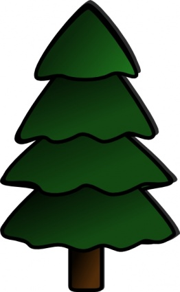 Simple Pine Tree Clipart.