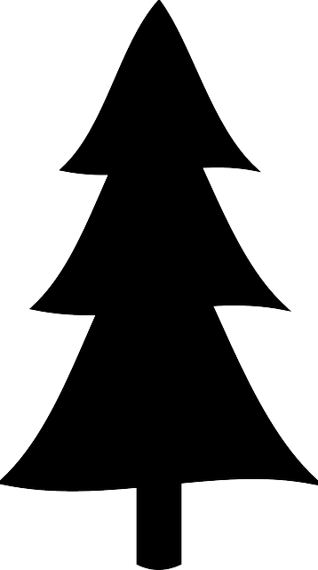 Free Simple Pine Tree Silhouette, Download Free Clip Art.
