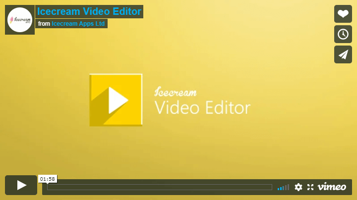Video Editor: Edit videos fast and free.