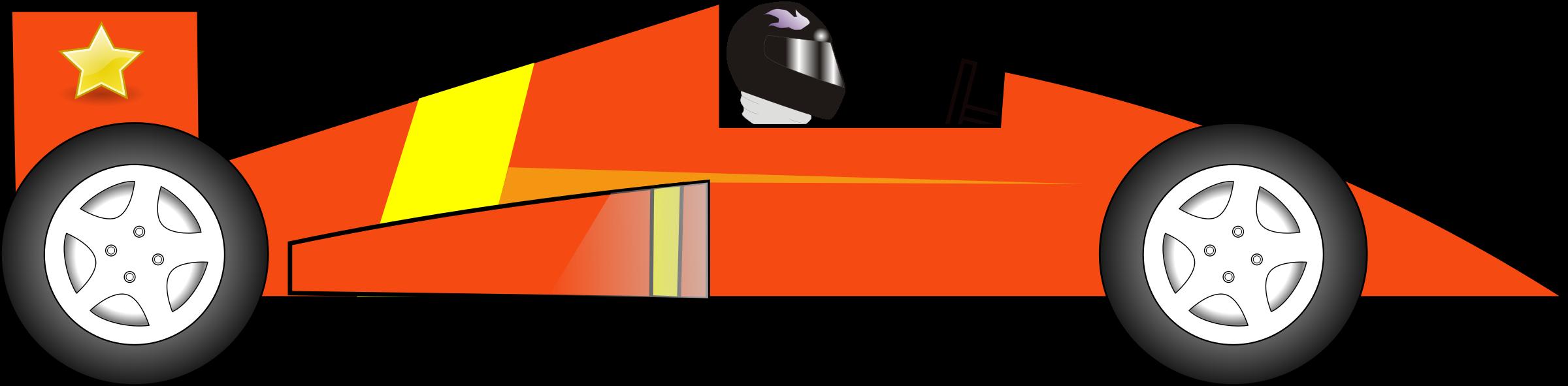 2817 Race Car free clipart.