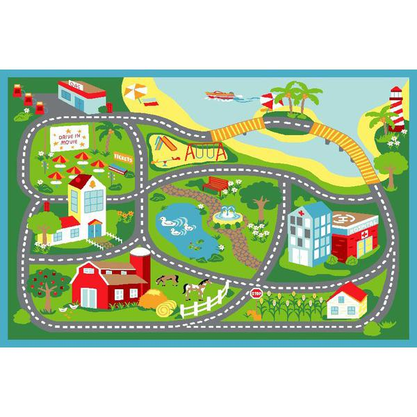 Simple Road Map Clipart Clipground - Kids road map