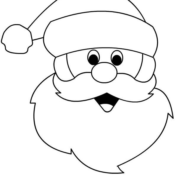 Santa Claus Drawing Easy.