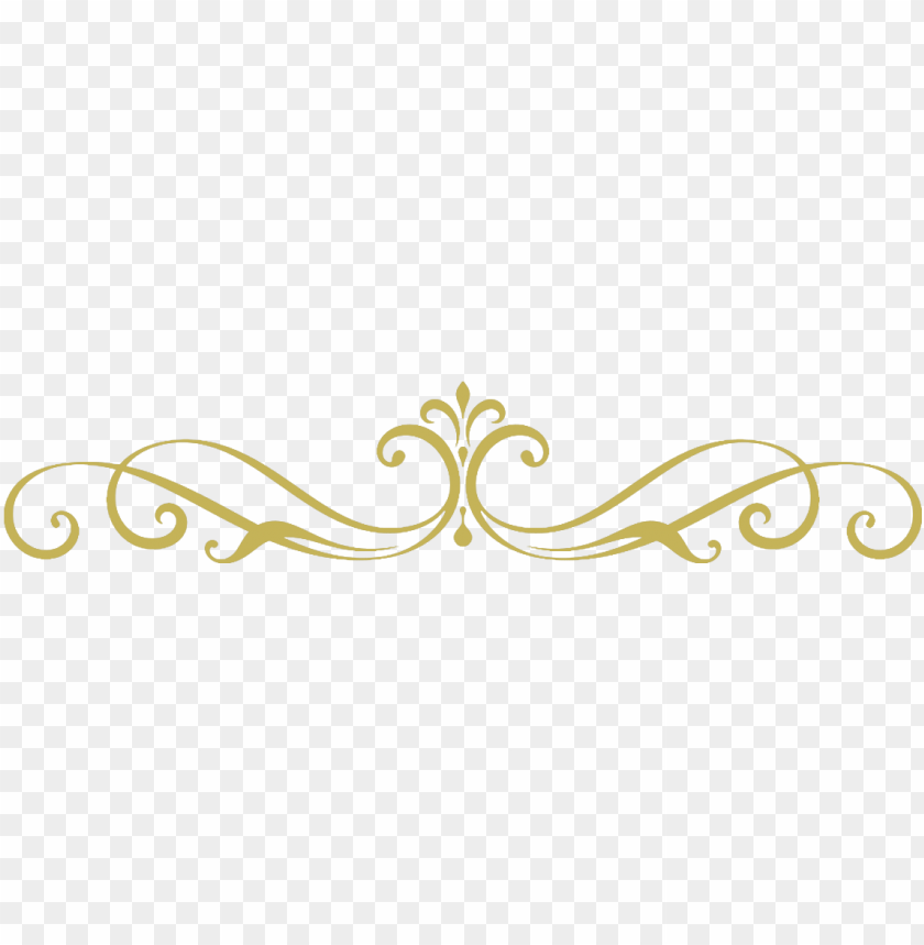 library stock gold divider clipart.