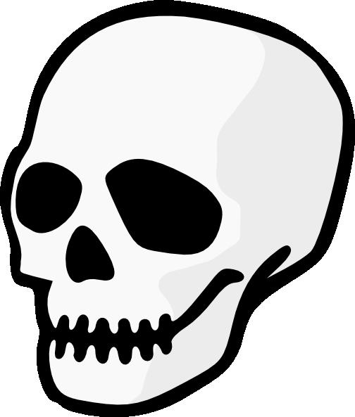 Simple Skull Clipart.