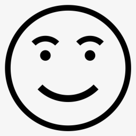Transparent Happy Face Icon Png.