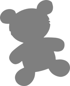 Simple Teddy Bear Clip Art at Clker.com.