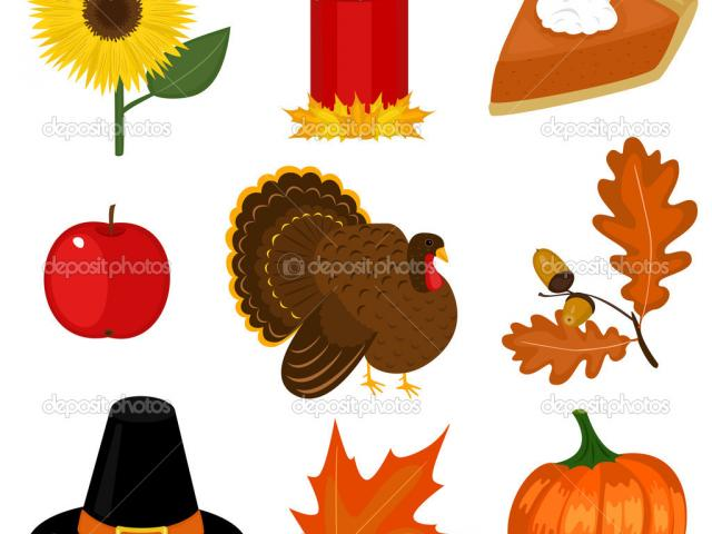 Simple Thanksgiving Cliparts 6.