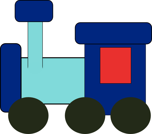 Kiddy Train Clip Art at Clker.com.