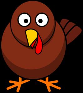 Simple Turkey Clipart.