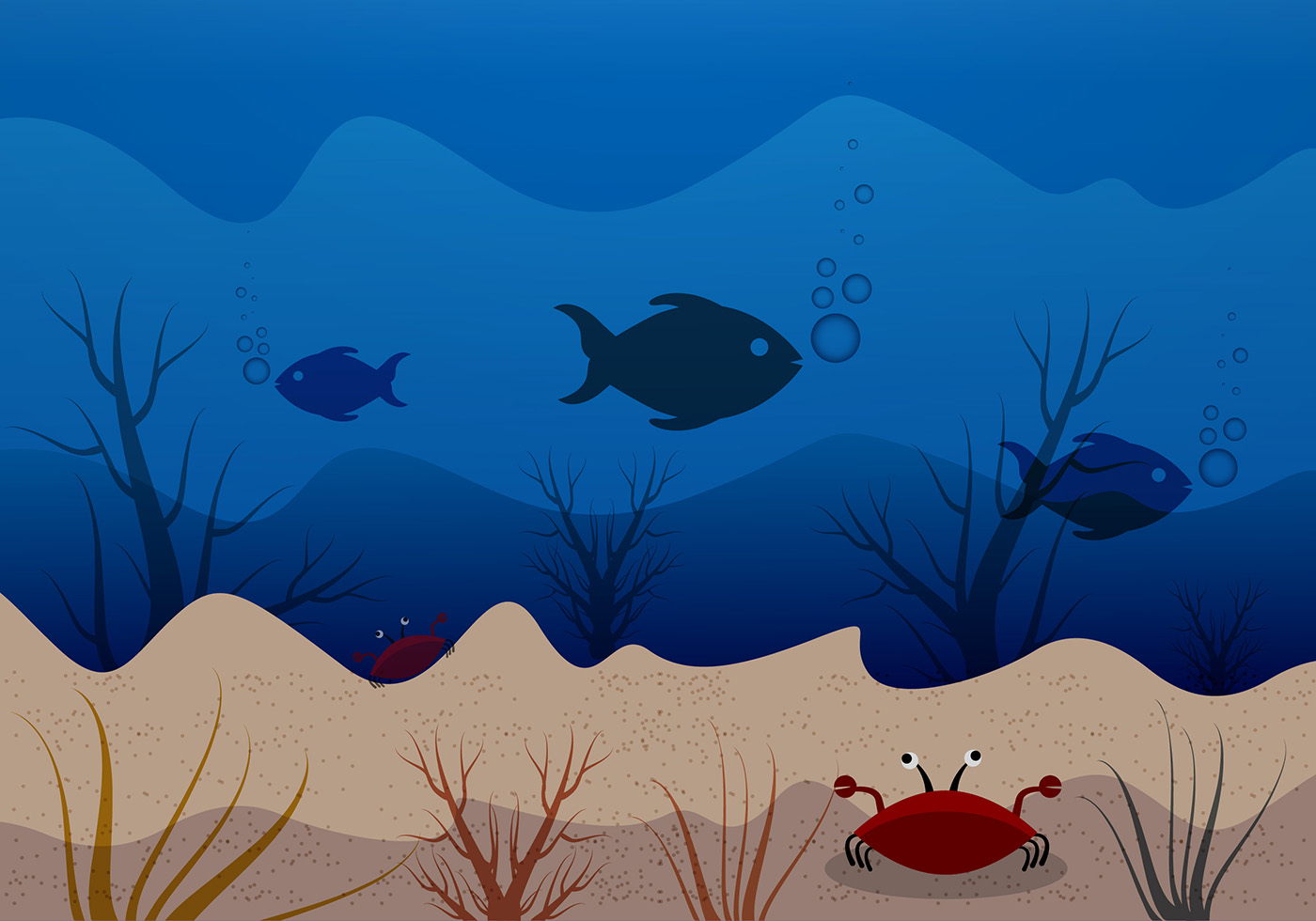 Coral Free Vector Art.