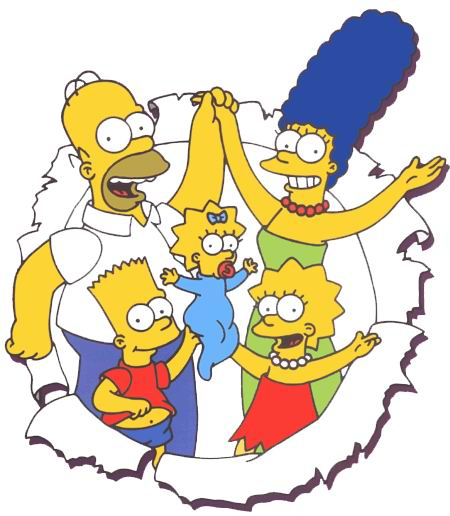 Simpson Clip Art.