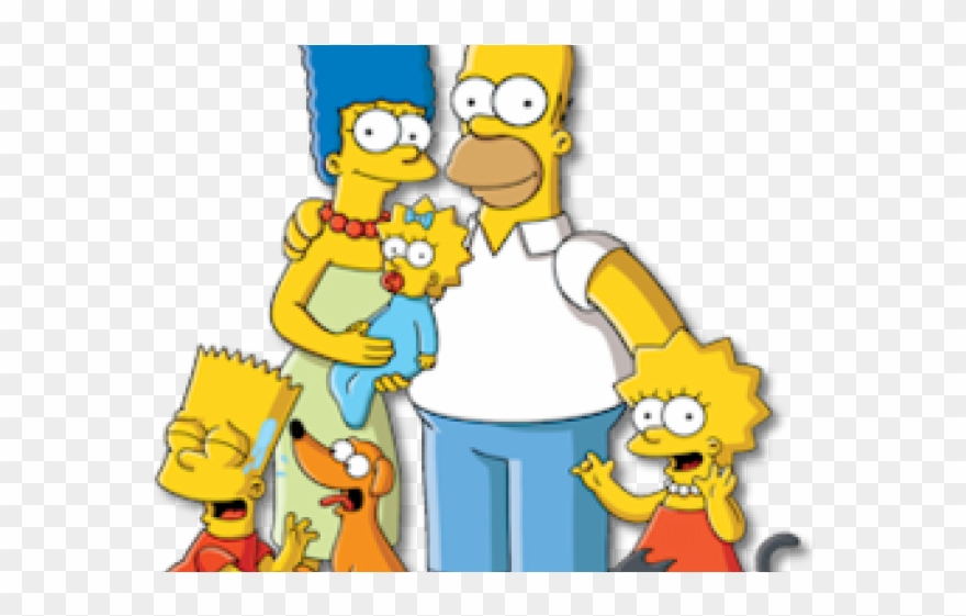 The Simpsons Clipart Simpsons Family.