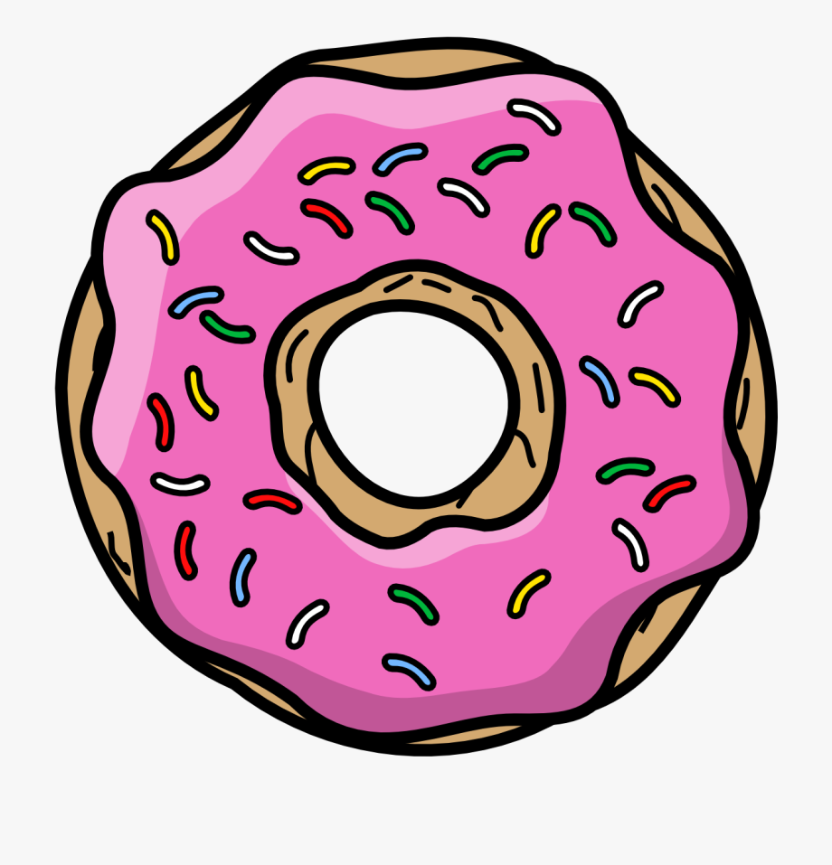 Donut Cartoon Png.