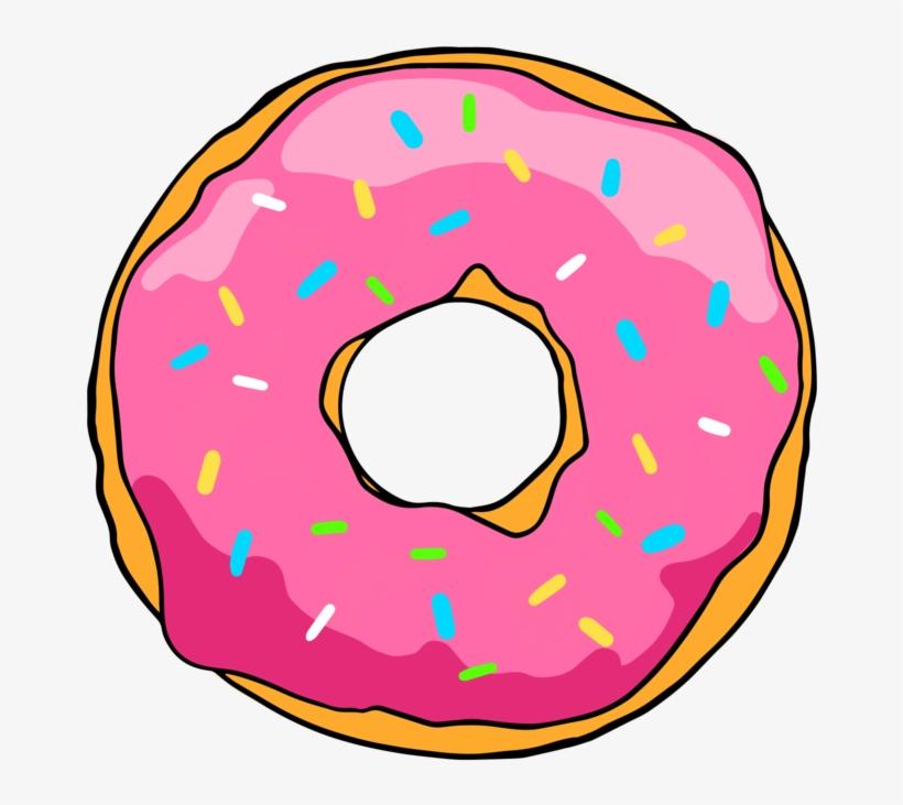 Simpsons Donut Png Transparent PNG.