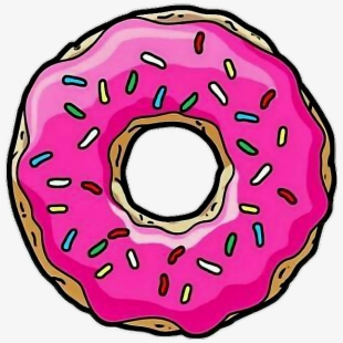 Simpsons Donut Png.