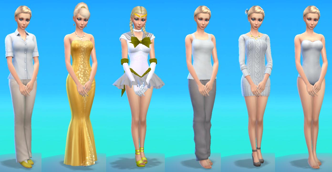 Sims 4 Clipart.