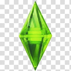 The Sims diamond logo transparent background PNG clipart.