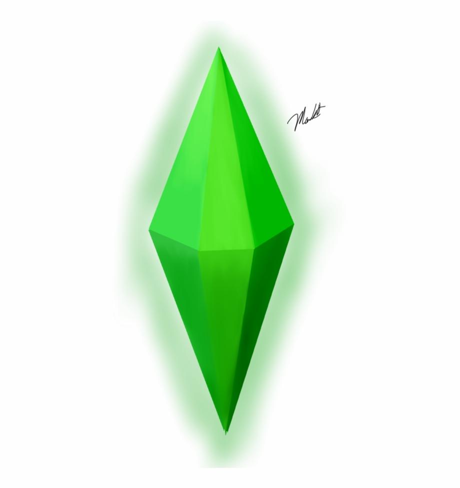 Sims Diamond Png.