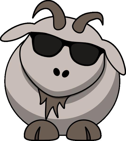 Goat simulator clipart.