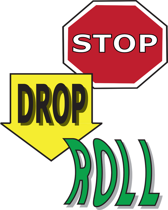 Iowans Set World Record For Simultaneous Stop Drop Roll #LkFC0Z.